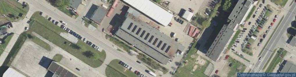 Zdjęcie satelitarne Kombatantów 2