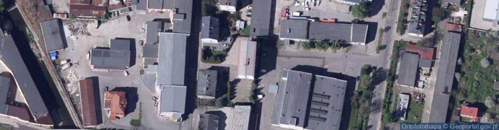 Zdjęcie satelitarne Komorowicka ul.