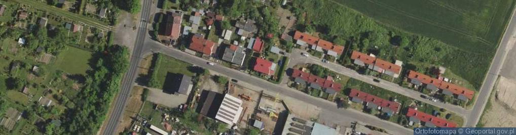 Zdjęcie satelitarne Kościuszki Tadeusza, gen. 42