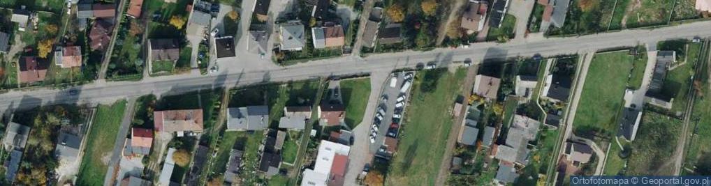 Zdjęcie satelitarne Konwaliowa 159