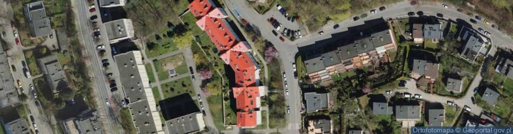 Zdjęcie satelitarne Korczaka Janusza 18