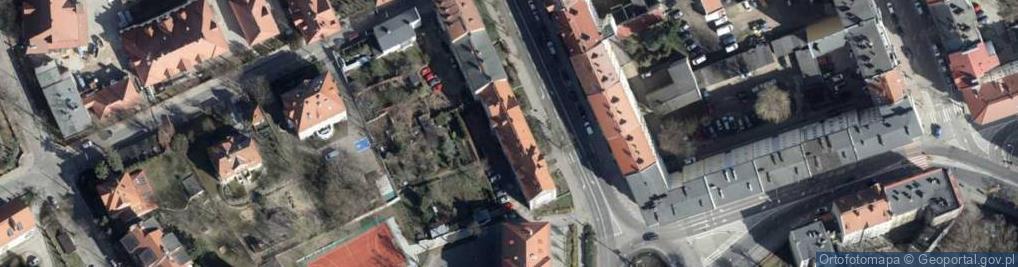 Zdjęcie satelitarne Kosynierów Gdyńskich 10