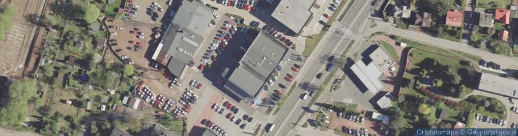 Zdjęcie satelitarne Kościuszki Tadeusza, gen. 215