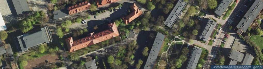 Zdjęcie satelitarne Koszarowa 17