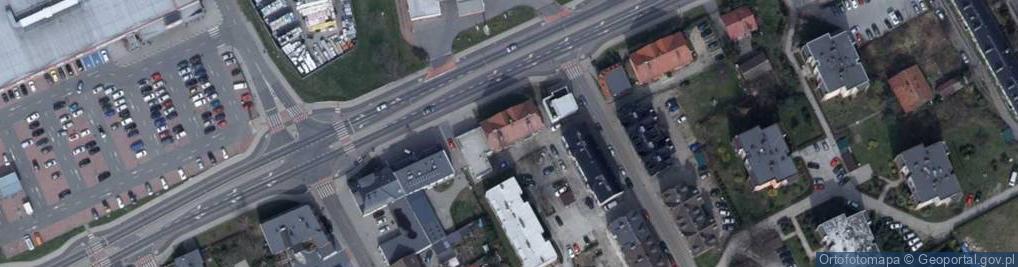 Zdjęcie satelitarne Kozielska ul.