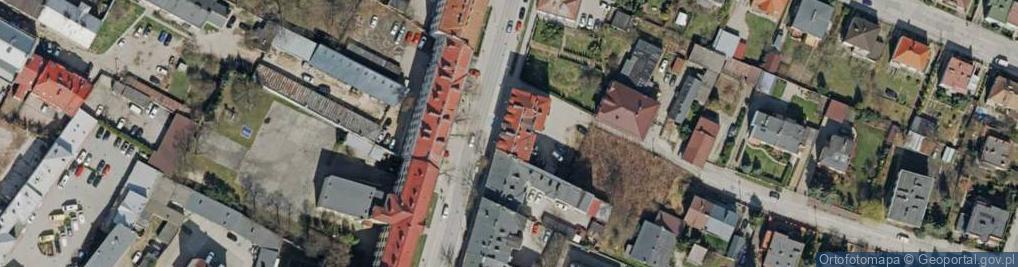 Zdjęcie satelitarne Kościuszki Tadeusza, gen. 14