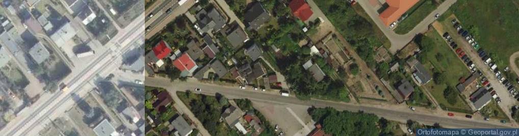 Zdjęcie satelitarne Komornicka 17