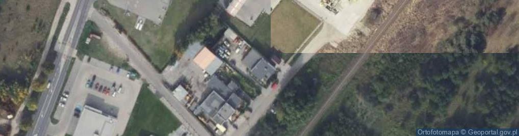 Zdjęcie satelitarne Konwaliowa 20