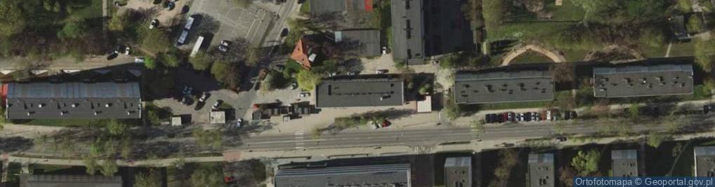 Zdjęcie satelitarne Kołobrzeska ul.