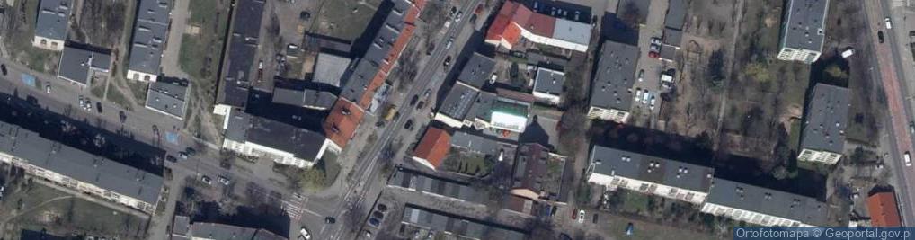 Zdjęcie satelitarne Kościuszki Tadeusza, gen. 15