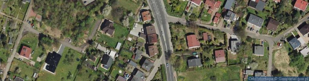 Zdjęcie satelitarne Korola Józefa 65a