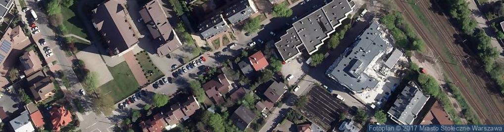 Zdjęcie satelitarne Korkowa ul.