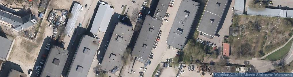 Zdjęcie satelitarne Kolejowa 19