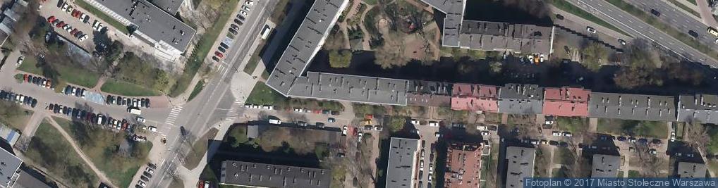 Zdjęcie satelitarne Kopińska 42