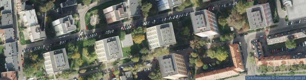 Zdjęcie satelitarne Kowalska 14