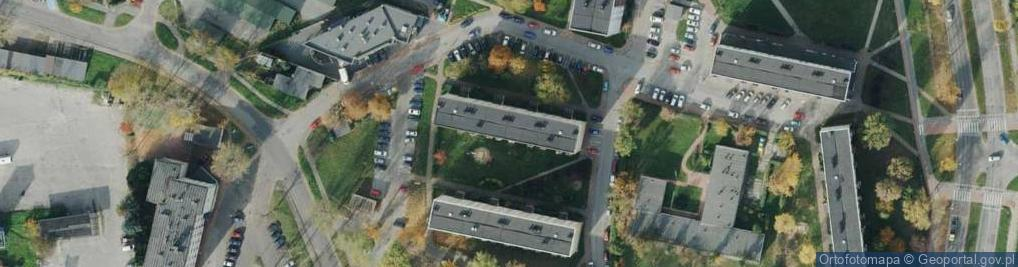 Zdjęcie satelitarne Krasińskiego ul.