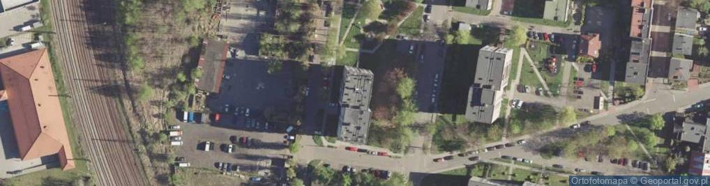 Zdjęcie satelitarne Kredytowa ul.