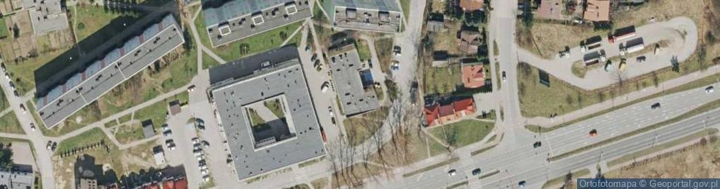 Zdjęcie satelitarne Kryształowa ul.
