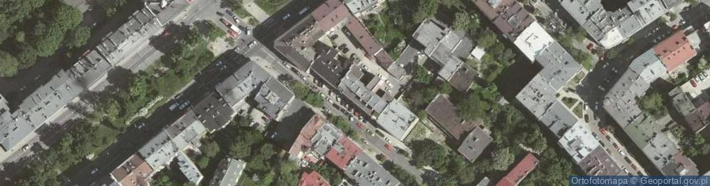 Zdjęcie satelitarne Krowoderska 77