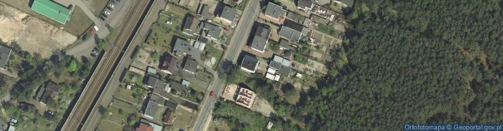 Zdjęcie satelitarne Krosińska 53