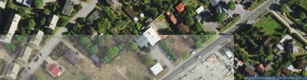 Zdjęcie satelitarne Królewska 50