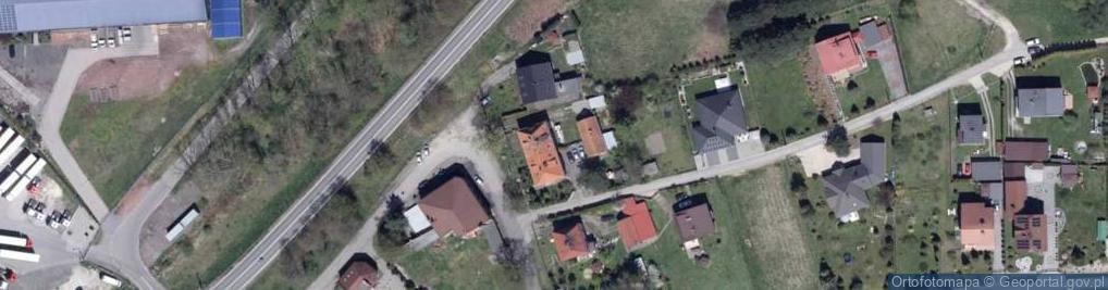 Zdjęcie satelitarne Krywałdzka 3