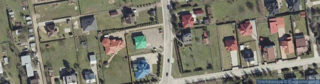 Zdjęcie satelitarne Krzyska ul.