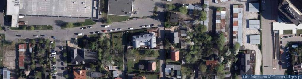 Zdjęcie satelitarne Ku Wiatrakom ul.