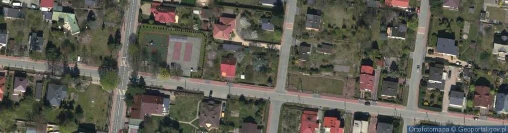 Zdjęcie satelitarne Kusocińskiego Janusza 16