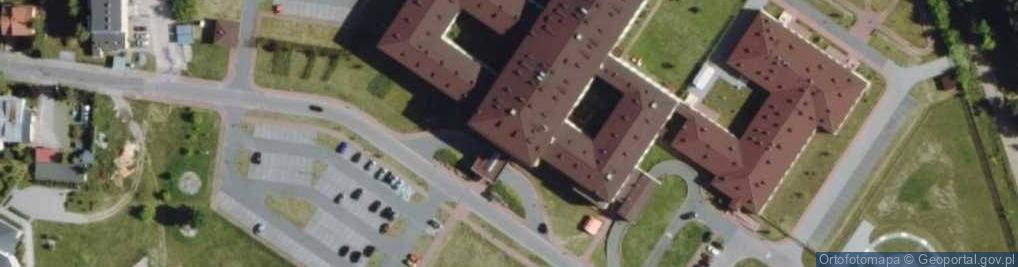 Zdjęcie satelitarne Kwiatkowskiego Teofila 19