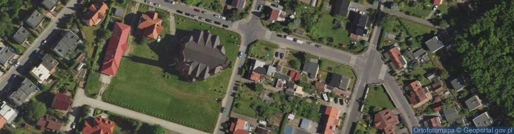 Zdjęcie satelitarne Łąkowa 30