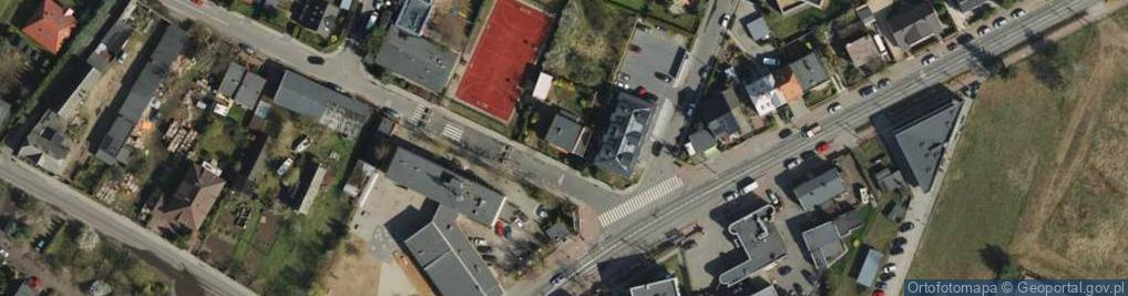 Zdjęcie satelitarne Ławica ul.