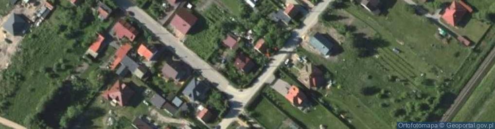 Zdjęcie satelitarne Leśna 48