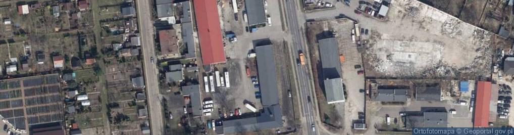 Zdjęcie satelitarne Legionów 20
