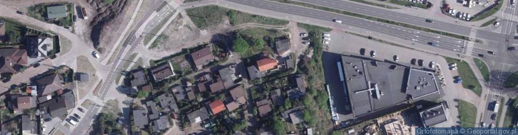 Zdjęcie satelitarne Łęgowskiego Tadeusza, kpt. 3