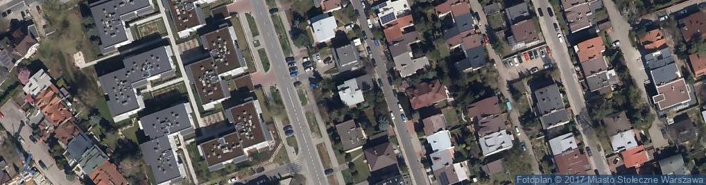Zdjęcie satelitarne Lektykarska ul.