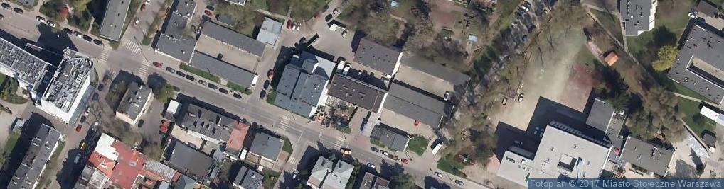 Zdjęcie satelitarne Lechicka 14