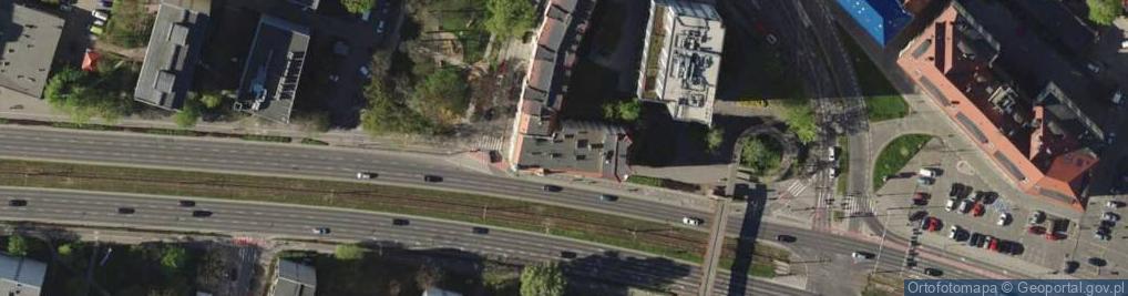 Zdjęcie satelitarne Legnicka 21