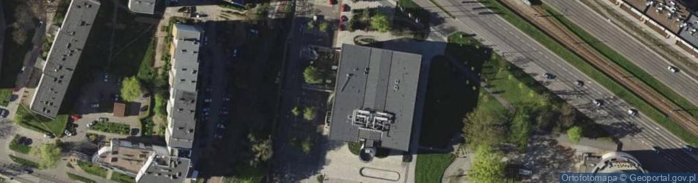 Zdjęcie satelitarne Legnicka 40