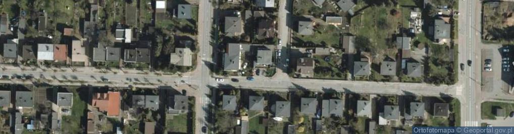 Zdjęcie satelitarne Lipowa 1