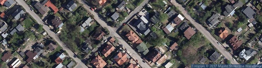 Zdjęcie satelitarne Licealna ul.