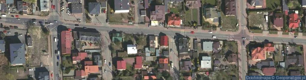 Zdjęcie satelitarne Lipińska 48