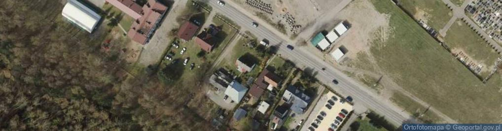 Zdjęcie satelitarne Lotnicza 9