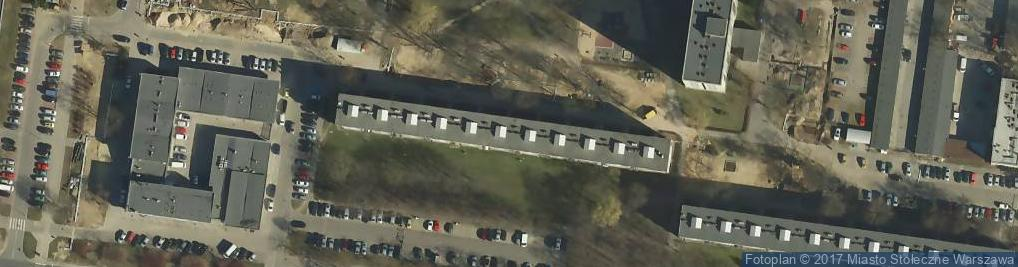 Zdjęcie satelitarne Łojewska ul.