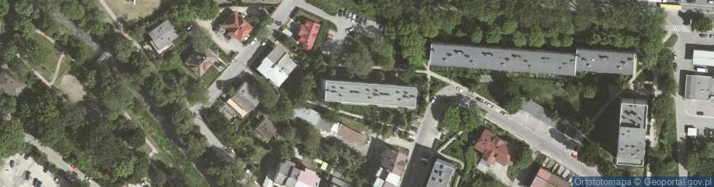 Zdjęcie satelitarne Lublańska 14