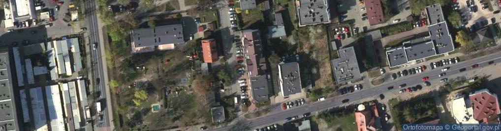 Zdjęcie satelitarne Ludowa 5