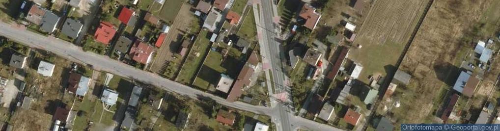 Zdjęcie satelitarne Łukowska 56