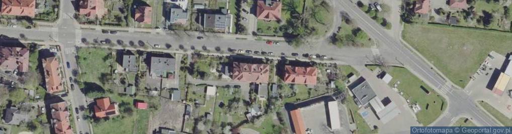 Zdjęcie satelitarne Łużycka 20