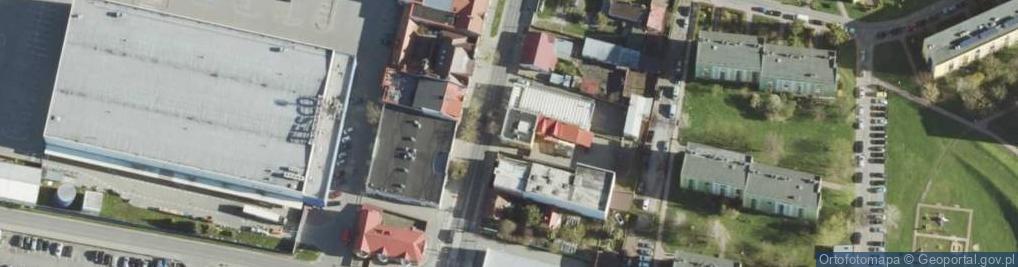 Zdjęcie satelitarne Lwowska 73