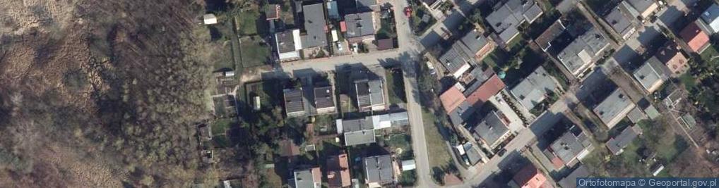 Zdjęcie satelitarne Marynarska ul.